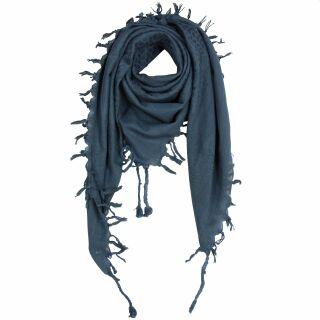 Palituch Pentagramm grau schwarz PLO Pali Baumwolltuch Halstuch Kopftuch Schal