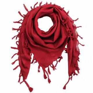 Kufiya - red-burgundy - red-burgundy - Shemagh - Arafat scarf