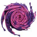 Kufiya - purple - rose - Shemagh - Arafat scarf