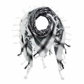 Palituch - weiß - schwarz - Kufiya PLO Tuch