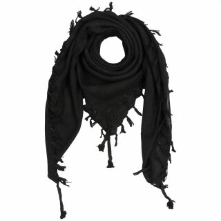 Kufiya - black - black - Shemagh - Arafat scarf