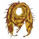 Kufiya - brown - brown-orchre - Shemagh - Arafat scarf