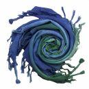 Kufiya - Tie dye colourful-batik 02 - Shemagh - Arafat scarf