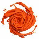 Palituch - orange - orange - Kufiya PLO Tuch