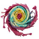 Kufiya - colourful-batik-tiedye 02 - Unicorn Sun -...