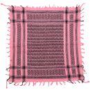 Bandana - light Kufiya - rose - black - 55x55 cm -...