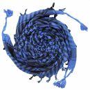 Kufiya - basic woven blue-black - Shemagh - Arafat scarf