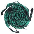 Kufiya - basic woven green - blue - pink - Shemagh -...